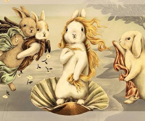 bunnies, rabbits, and Venus image