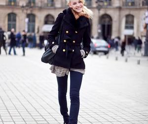 fashion, model, and ginta lapina image