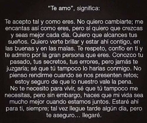 te amo, love, and frases image