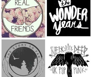 bands, real friends, and Logo image