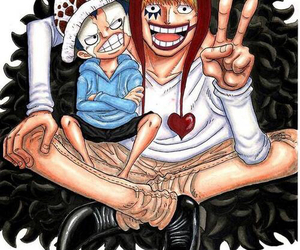 corazon, manga boy, and trafalgar law image