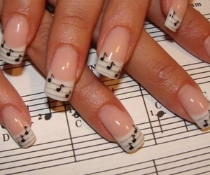 fingers, music, and hands image