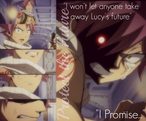 anger, promise, and fairy tail image