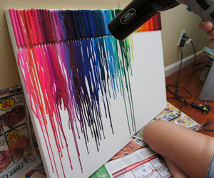 art, colors, and cool image