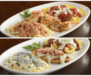 olive garden and food image