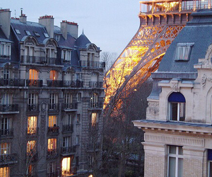 beautiful, eiffel tower, and place image