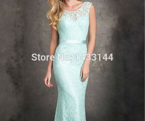 lace and bridesmaid dresses image