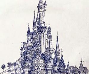 disney, drawing, and childhood image