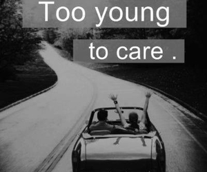 young, care, and quote image