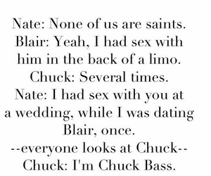chuck, gossip girl, and blair image