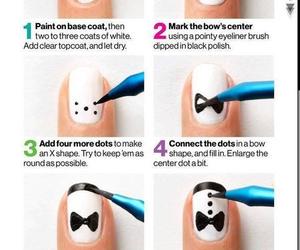 nails, diy, and white image