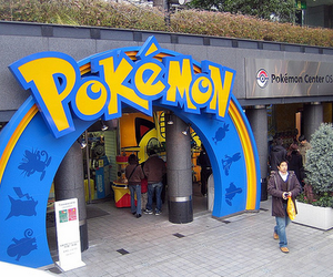 japan, osaka, and pokemon center image
