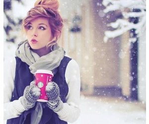 coffee, cold, and fashion image