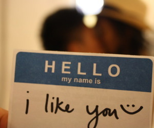 couple, hi, and i like you image