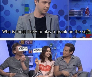 funny, jace, and Kevin Zegers image