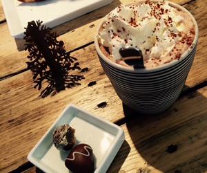 chocolate and christmas image