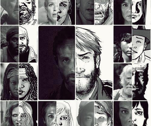 the walking dead, comic, and carol image