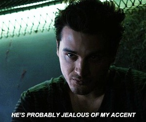 enzo, tvd, and britishaccent image