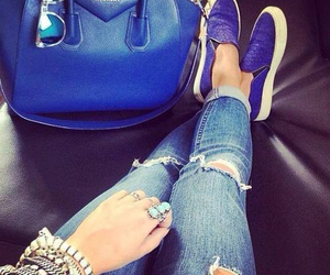 fashion, blue, and jeans image