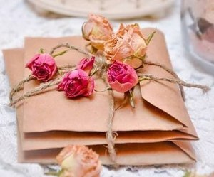 flowers, rose, and vintage image