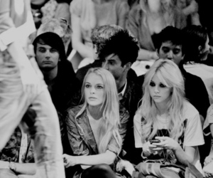 lindsay lohan, Taylor Momsen, and black and white image