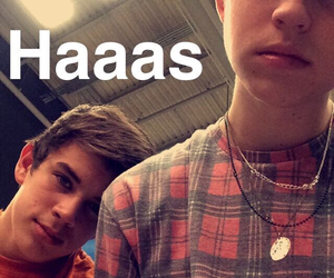 hayes grier, nash grier, and snapchat image