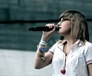 girl, indie, and music image