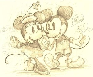 minnie and mickey image