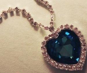 titanic, diamond, and blue image