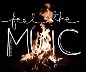 fire, music, and paramore image
