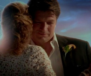castle, caskett, and nathan fillion image