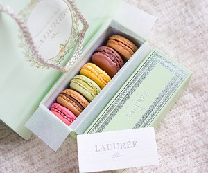 macarons, paris, and sweet image