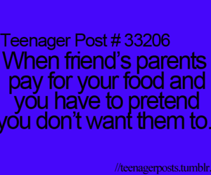 true, teenager post, and food image