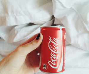 cocacola, red, and coke image