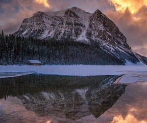 Alberta, lake louise, and winter image