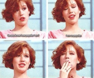 Molly Ringwald, popular, and The Breakfast Club image