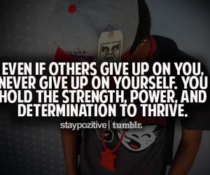 determination, give up, and life image