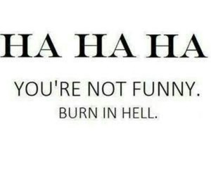 funny, hell, and quotes image