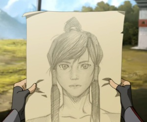 draw, korra, and legend of korra image