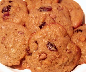 Cookies, walnuts, and cranberry image