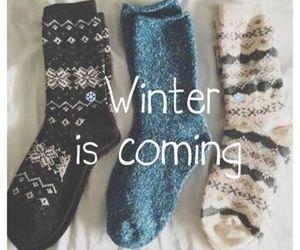 winter, socks, and coming image