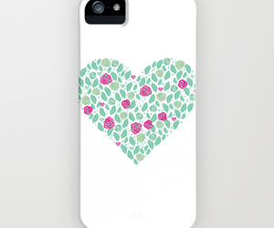 heart, white, and iphone cases image
