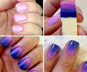 nails, pink, and diy image