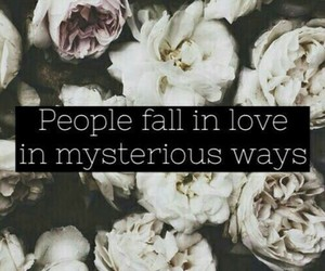 mysterious, ed sheeran, and love image