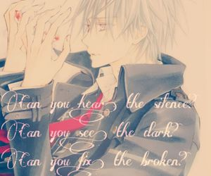 lonely, sad, and vampire knight image