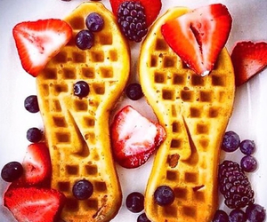 nike, waffles, and fitness image