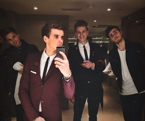joe sugg, caspar lee, and marcus butler image