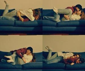 boy, cuddling, and love image