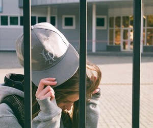 cap and girl image