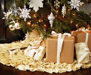 christmas, tree, and present image